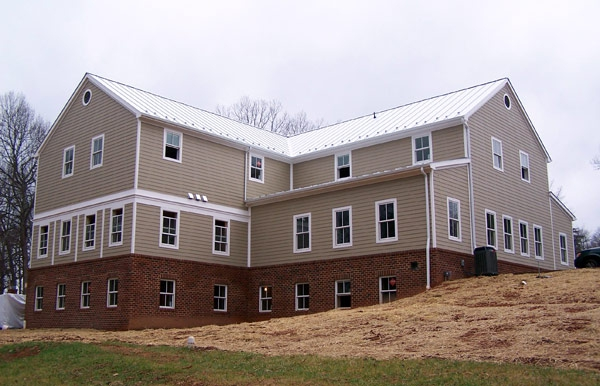 Structural SIPs for commercial project, Macfarlane Homes, VA, 2007