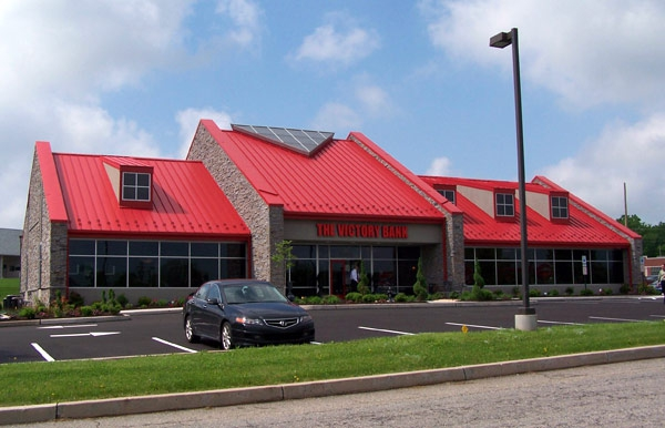 Structural SIPs for Victory Bank branch, SMJ, Inc., Douglassville, PA, 2006