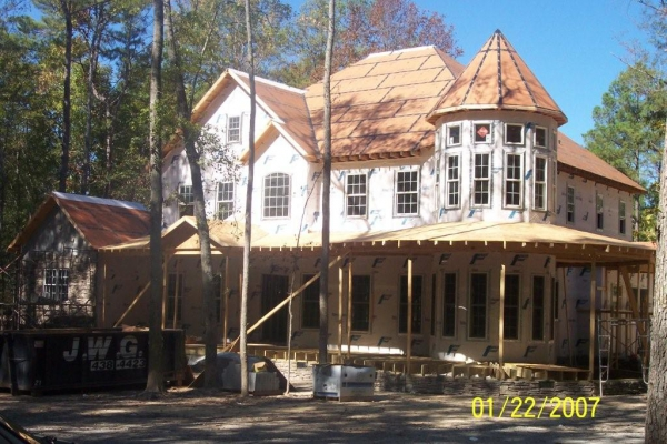 Structural residential project, Elgin, SC, 2007