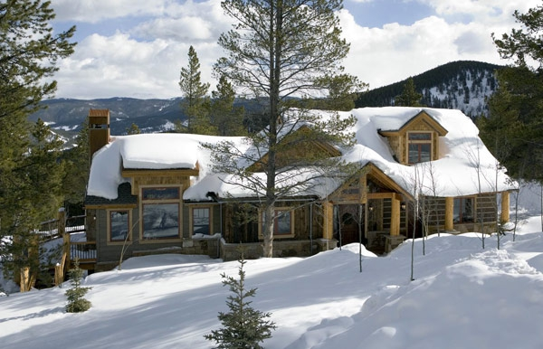 SIPs for log and timber frame hybrid, Trilogy Partners, Breckenridge, CO, 2004