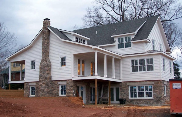 Structural SIPs for residential project, Macfarlane Homes, Charlottesville, VA, 2007