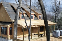 Structural SIPs for Macfarlane Homes project, VA, 2006
