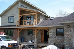 SIPs for timber frame home, Envinity, LLC, State College, PA, 2008