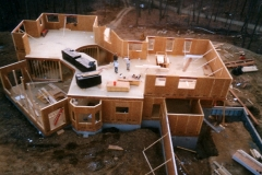Structural SIPs for residential project, Sparta, NJ, 2002