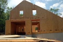 Structural SIP wall panels for Macfarlane Homes, VA, 2006