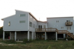 Structural SIPs for waterside home, CWL Construction, Gloucester, VA, 2006