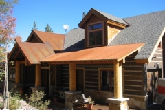 SIPs for Log/Timber Frame Hybrid for Trilogy Partners, Breckenridge, CO, 2004